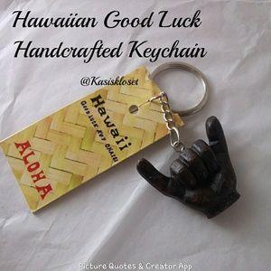 🎈4/$20🎈Hawaiian Good Luck Handcrafted Keychain